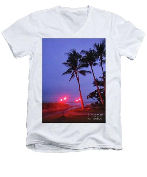 Sunrise Ocean Pathway Men's V-Neck T-Shirt