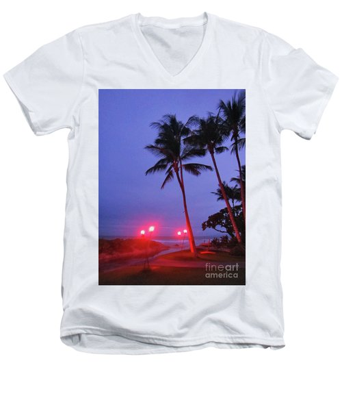 Sunrise Ocean Pathway Men's V-Neck T-Shirt