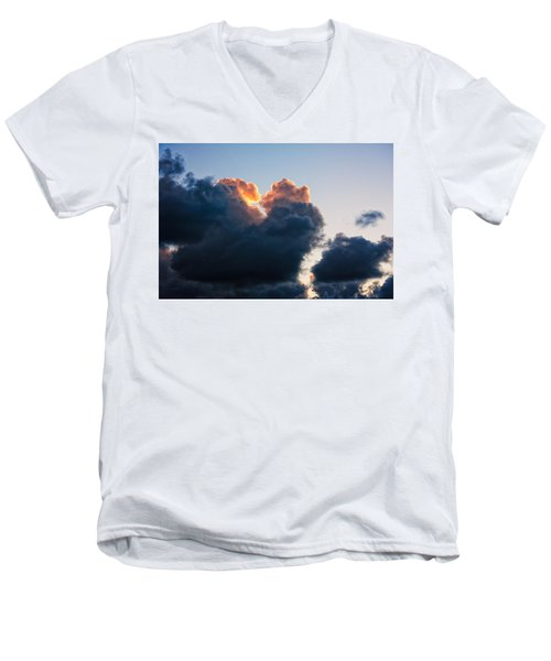 Sunrise On The Atlantic #10 Men's V-Neck T-Shirt