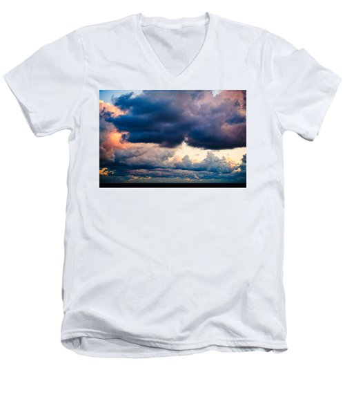 Sunrise On The Atlantic #11 Men's V-Neck T-Shirt
