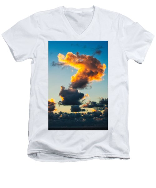 Sunrise On The Atlantic #16 Men's V-Neck T-Shirt