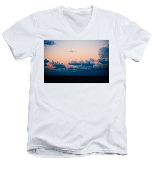 Sunrise On The Atlantic #2 Men's V-Neck T-Shirt