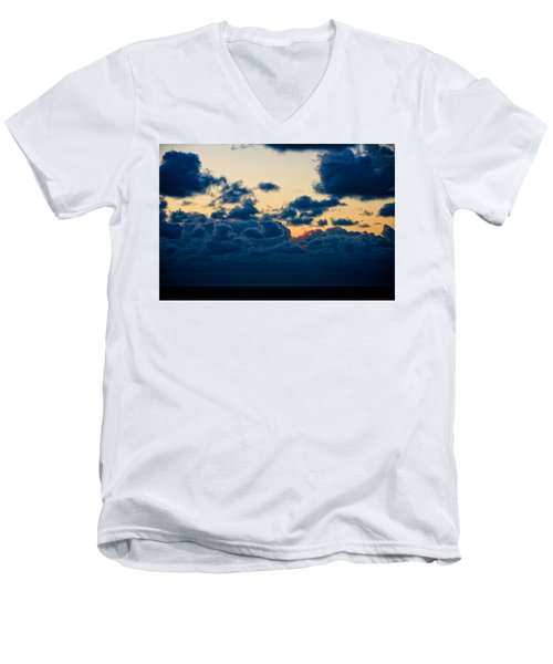 Sunrise On The Atlantic #5 Men's V-Neck T-Shirt