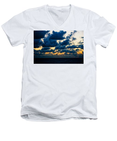 Sunrise On The Atlantic #7 Men's V-Neck T-Shirt
