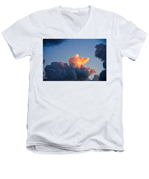Sunrise On The Atlantic #8 Men's V-Neck T-Shirt
