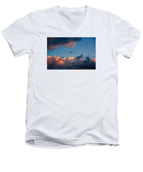 Sunrise On The Atlantic #9 Men's V-Neck T-Shirt