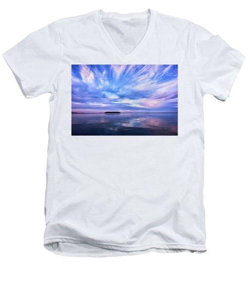 Sunset Awe Men's V-Neck T-Shirt