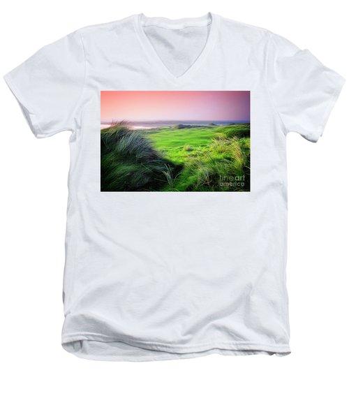 Sunset - Lahinch Men's V-Neck T-Shirt