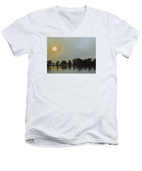 Sunset Ride Men's V-Neck T-Shirt