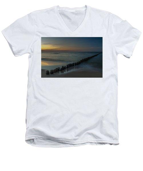 Sunset Zen Mood Seascape Men's V-Neck T-Shirt