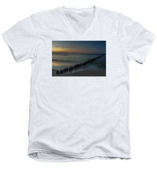 Sunset Zen Mood Seascape Men's V-Neck T-Shirt