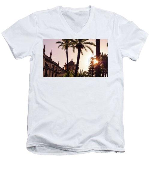 Sunsets Of Seville  Men's V-Neck T-Shirt