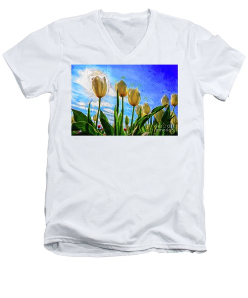 Sunshine Day Men's V-Neck T-Shirt