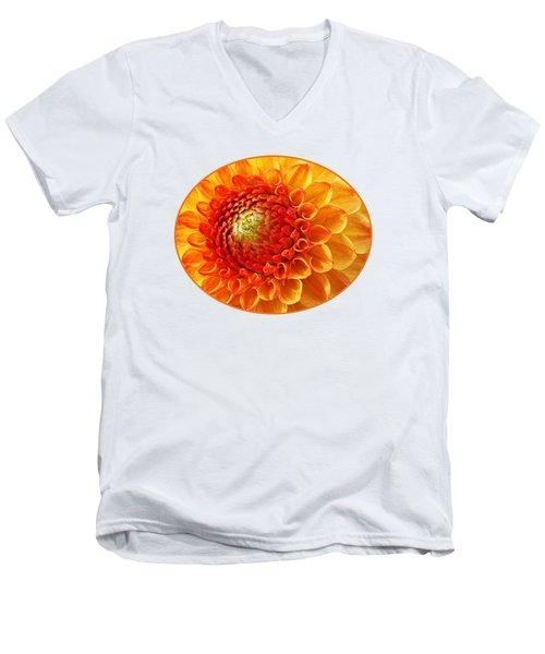 Sunshine  Men's V-Neck T-Shirt by Gill Billington