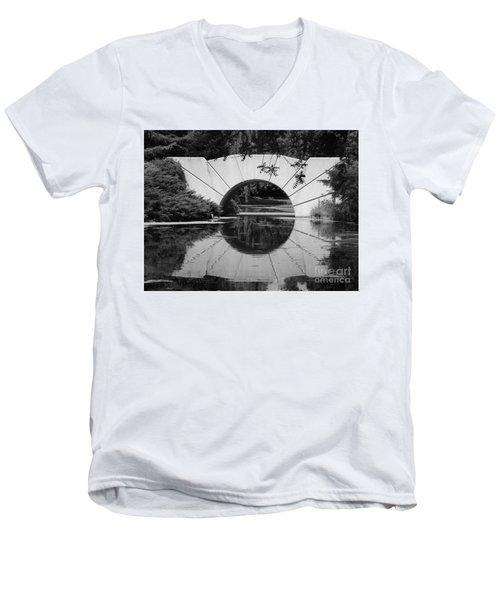 Sunshine In Black And White Men's V-Neck T-Shirt