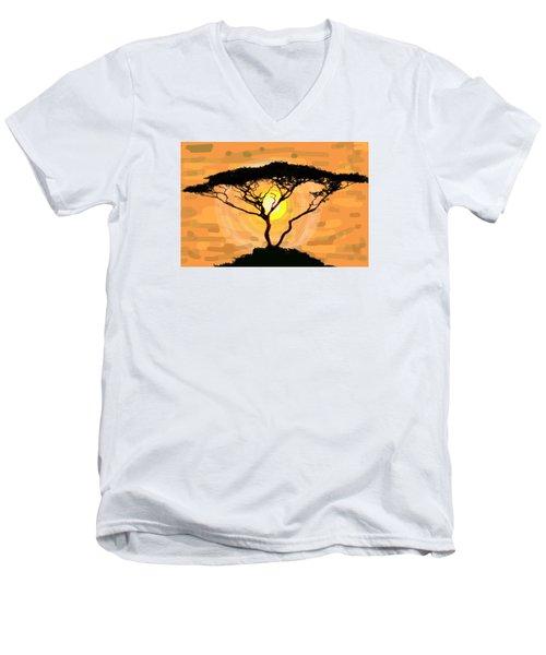 Suntree Men's V-Neck T-Shirt