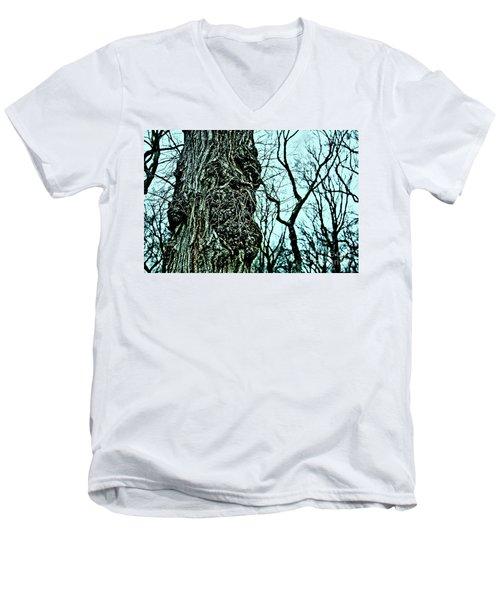 Super Tree Men's V-Neck T-Shirt