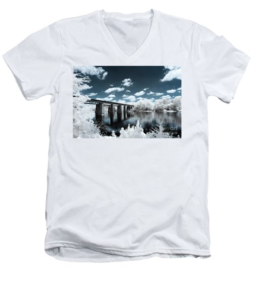 Surreal Crossing Men's V-Neck T-Shirt