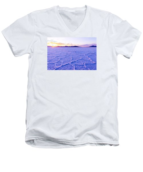 Surreal Salt Men's V-Neck T-Shirt by Chad Dutson