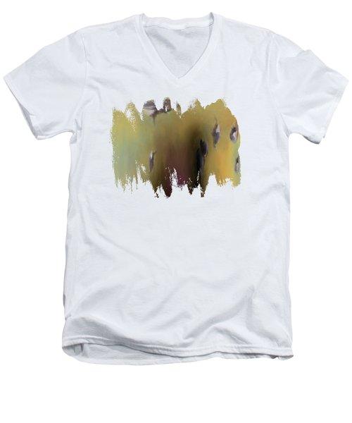 Surreal Turkey Tornado Men's V-Neck T-Shirt