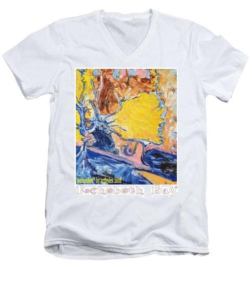 Sussex Waterways  Men's V-Neck T-Shirt