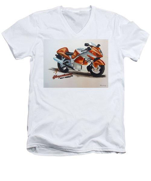 Suzuki Hayabusa Men's V-Neck T-Shirt