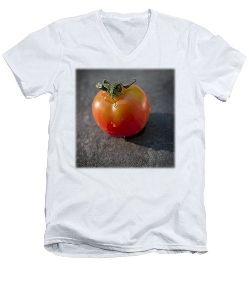 Sweet 100 T Men's V-Neck T-Shirt by David Stone
