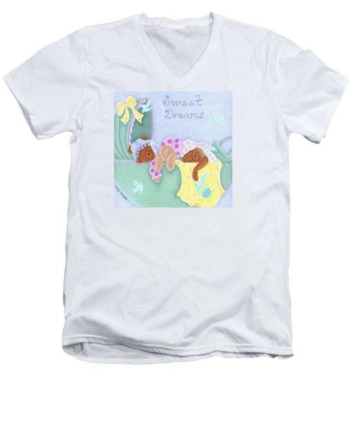 Sweet Dreams Men's V-Neck T-Shirt