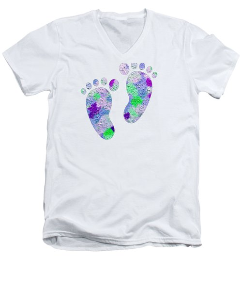 Sweet Feet Men's V-Neck T-Shirt