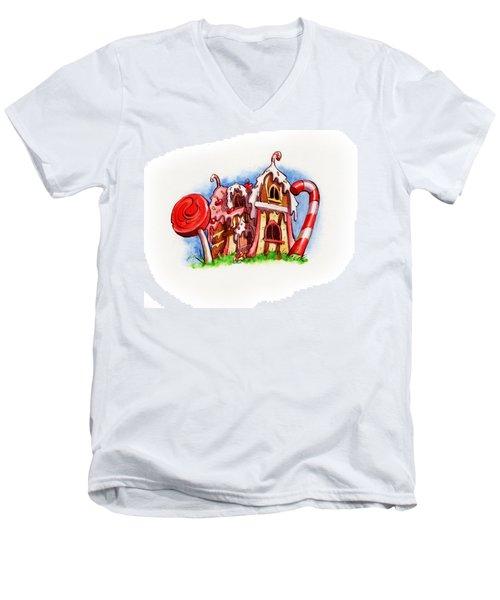 Sweety House Men's V-Neck T-Shirt