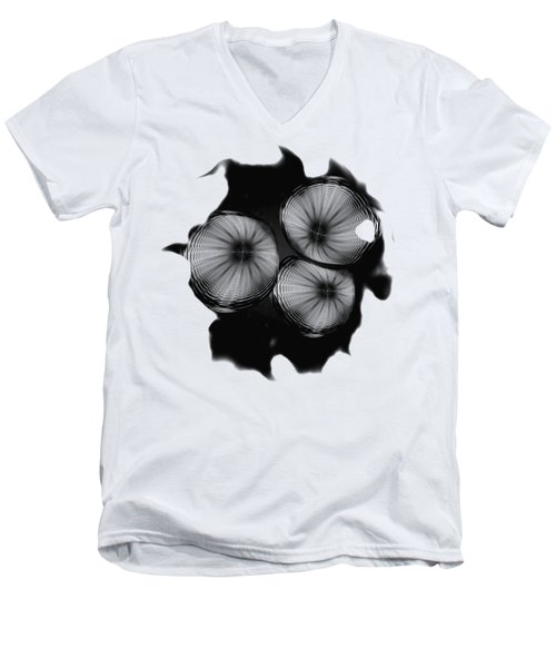 Swirly 1 Men's V-Neck T-Shirt