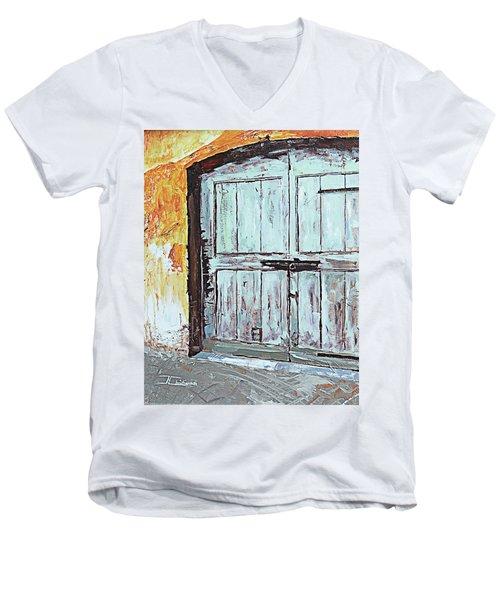 Switzerland Mint Door Men's V-Neck T-Shirt