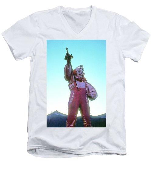 Sword Swallower Men's V-Neck T-Shirt