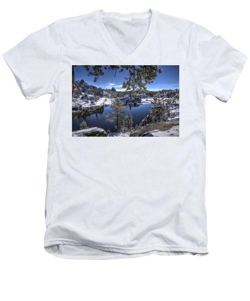 Sylvan Lake Men's V-Neck T-Shirt