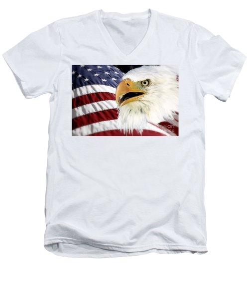 Symbol Of America Men's V-Neck T-Shirt