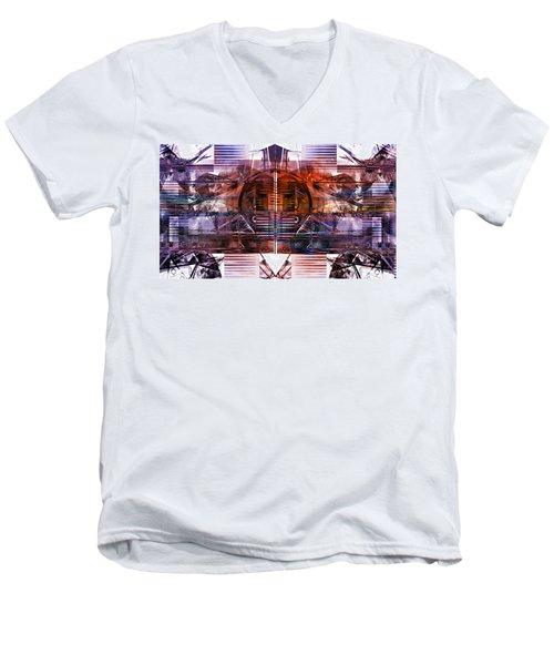 Synchronize Men's V-Neck T-Shirt