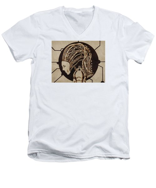 Synth Men's V-Neck T-Shirt