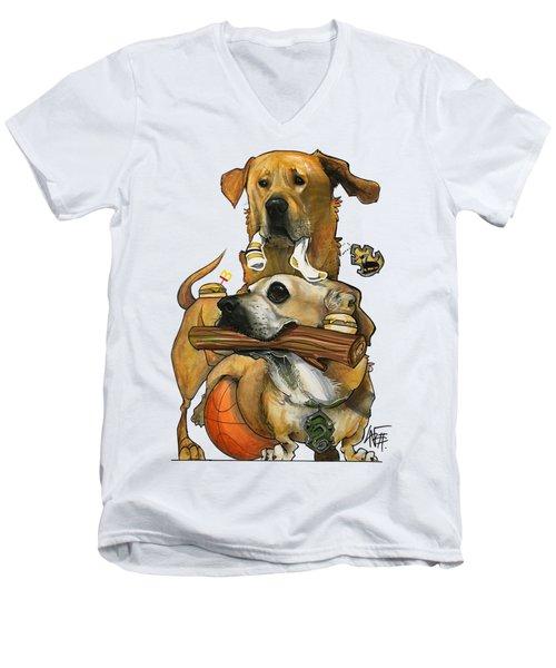 Szczupak 3187 Men's V-Neck T-Shirt