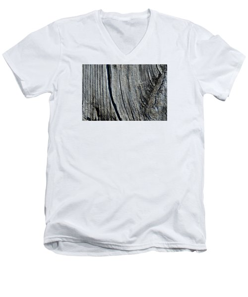 Men's V-Neck T-Shirt featuring the photograph Table Top  by Lyle Crump