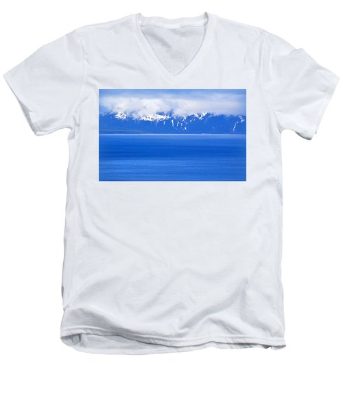 Tahoe Blue Men's V-Neck T-Shirt