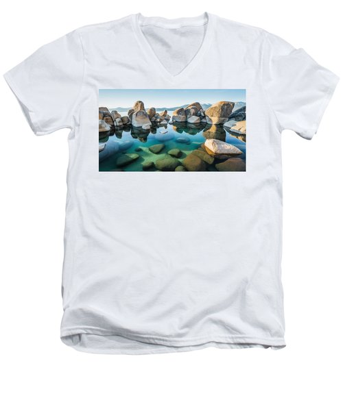 Tahoe Reflections Men's V-Neck T-Shirt