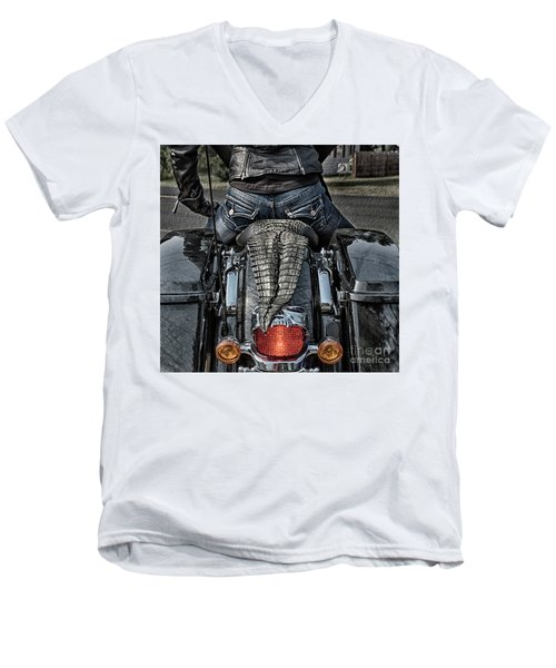 Tail Of The Dragon  Human Interest Art By Kaylyn Franks.  Men's V-Neck T-Shirt