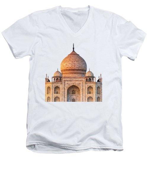 Taj Mahal T Men's V-Neck T-Shirt
