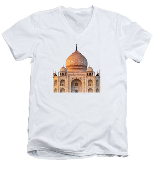Taj Mahal T Men's V-Neck T-Shirt