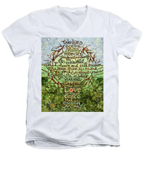 Take Lord, Receive Men's V-Neck T-Shirt