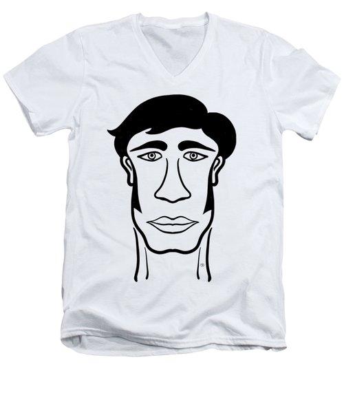 Takeshi Men's V-Neck T-Shirt