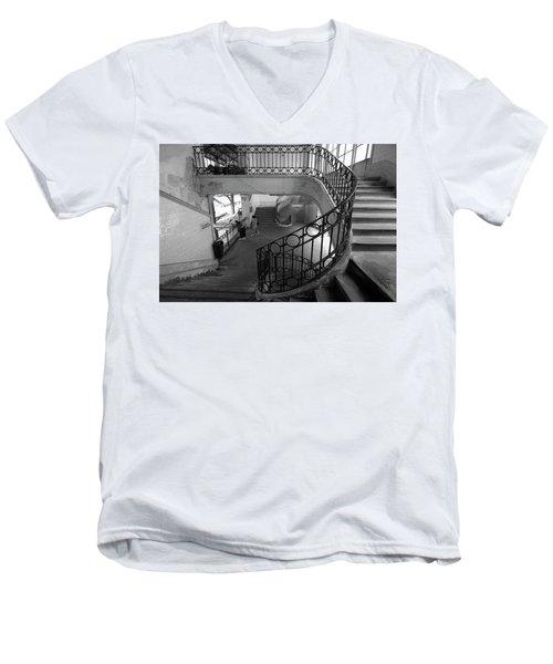 Taking A Photo Inside A Photo Men's V-Neck T-Shirt