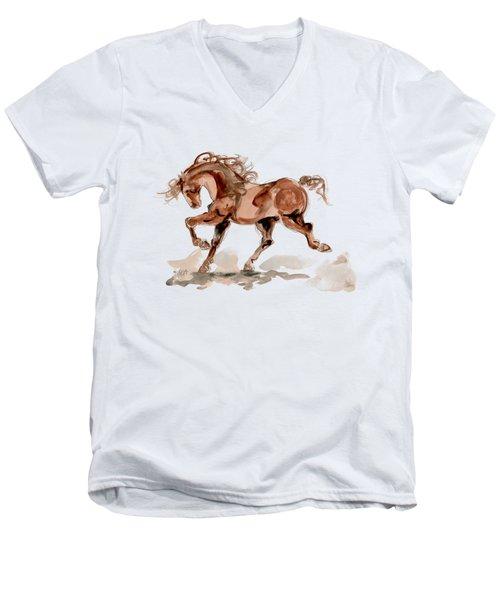 Taking Stride 2 Men's V-Neck T-Shirt