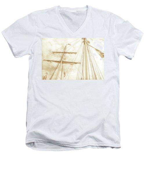 Tall Ship - 1 Men's V-Neck T-Shirt