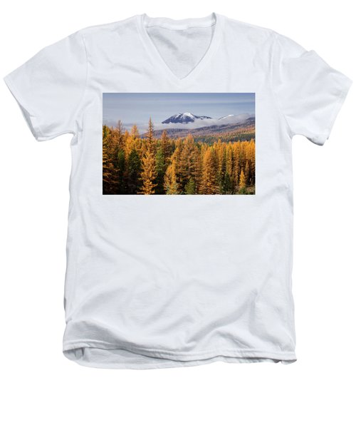 Tamarack Glory Men's V-Neck T-Shirt
